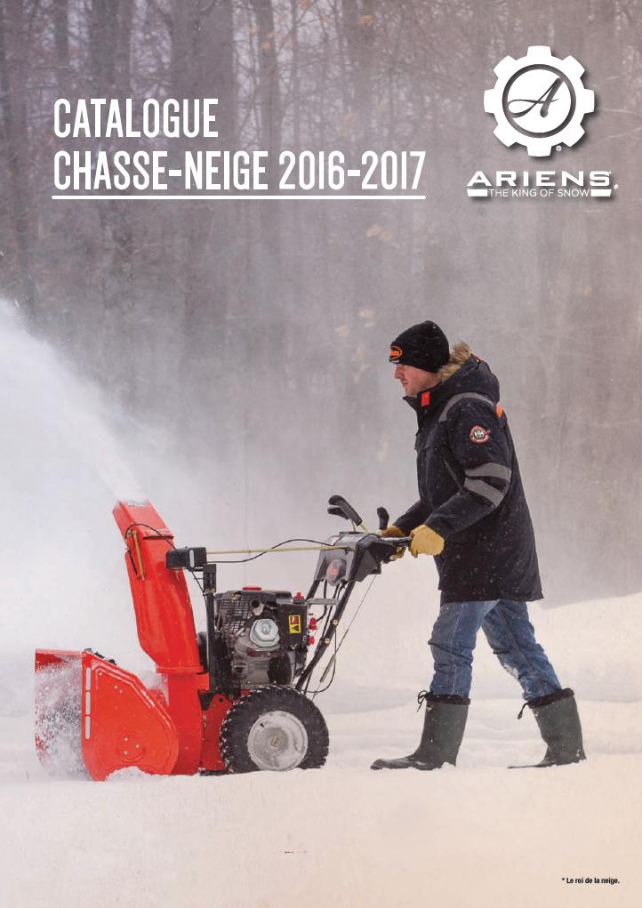 Brochure Chasse-neige Ariens