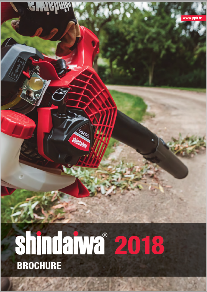 Brochure PPK Shindaiwa 2018