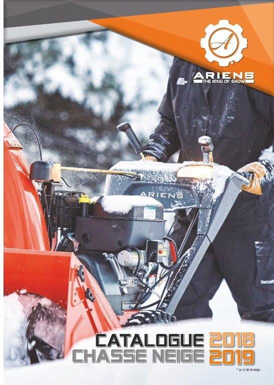 Brochure Chasse-neige Ariens 2018-2019