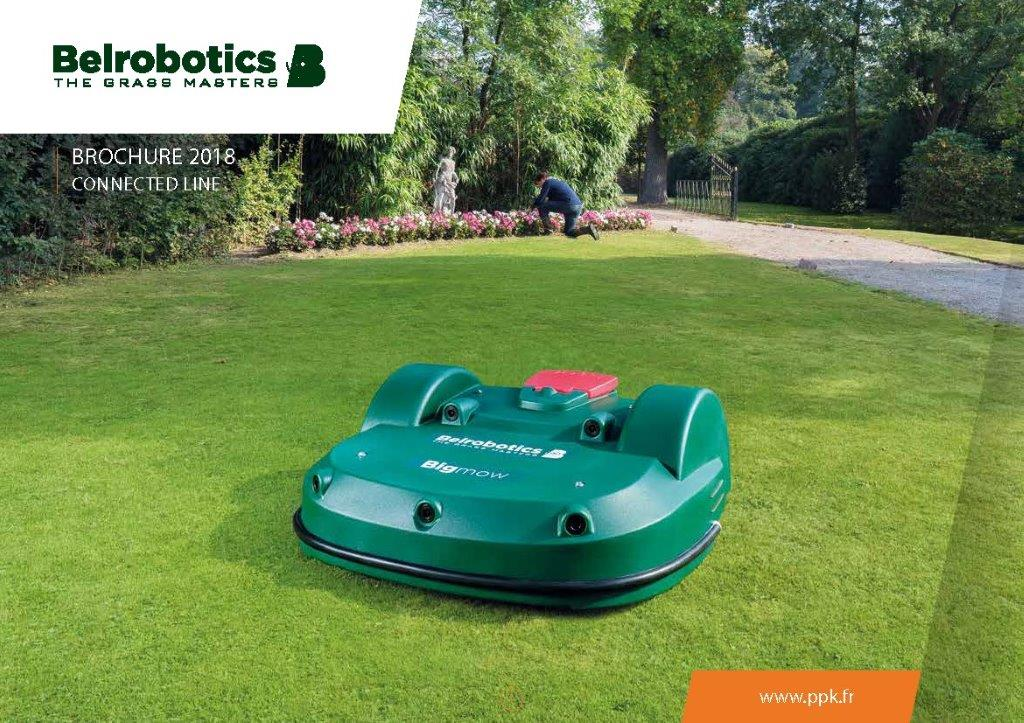 Brochure Connected line- Robots de tonte Belrobotics