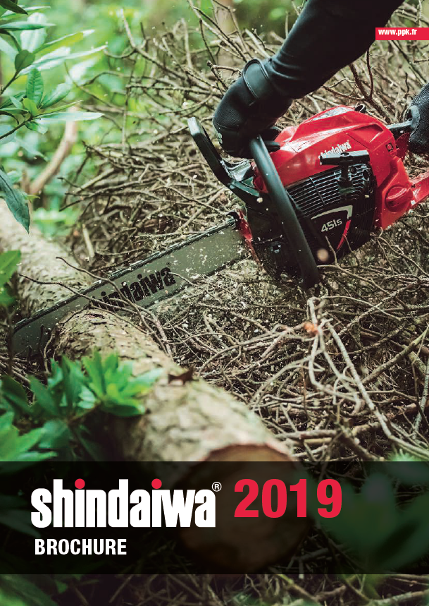 Brochure PPK Shindaiwa 2019